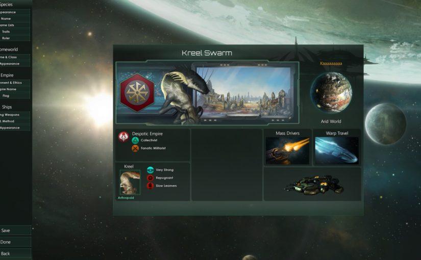 Cosa ne penso di Stellaris 2.0