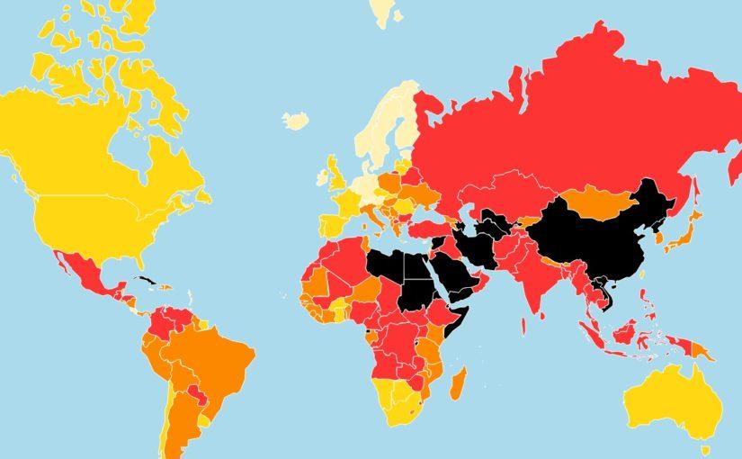 Lo Stato della Libertà di Stampa secondo RSF