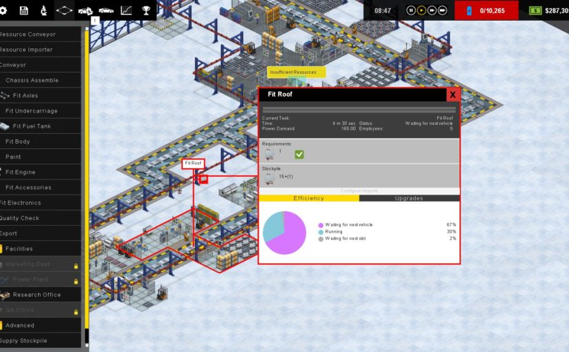 Production Line su Steam