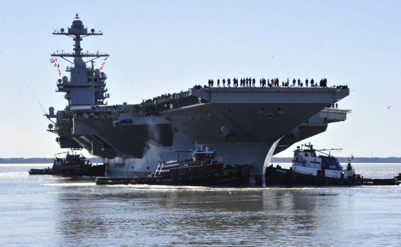 La USS Gerald R. Ford entra in servizio