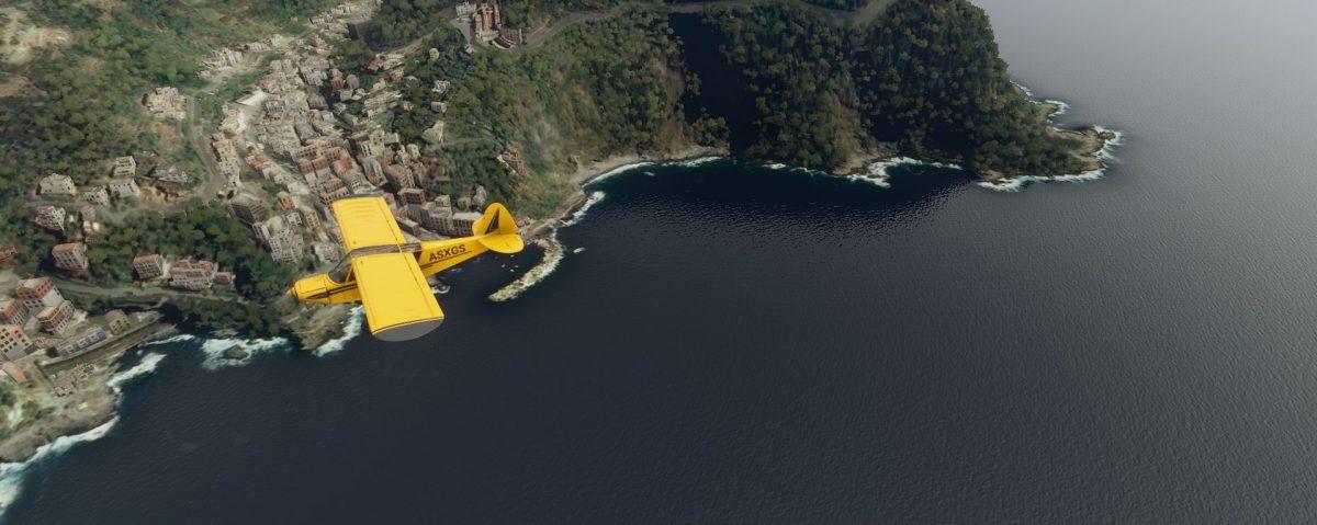 Flight Simulator: Lo scenario