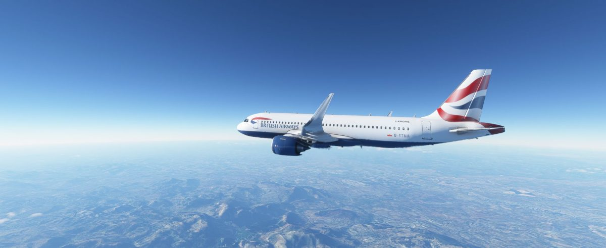 Aerei passeggeri su Flight Simulator